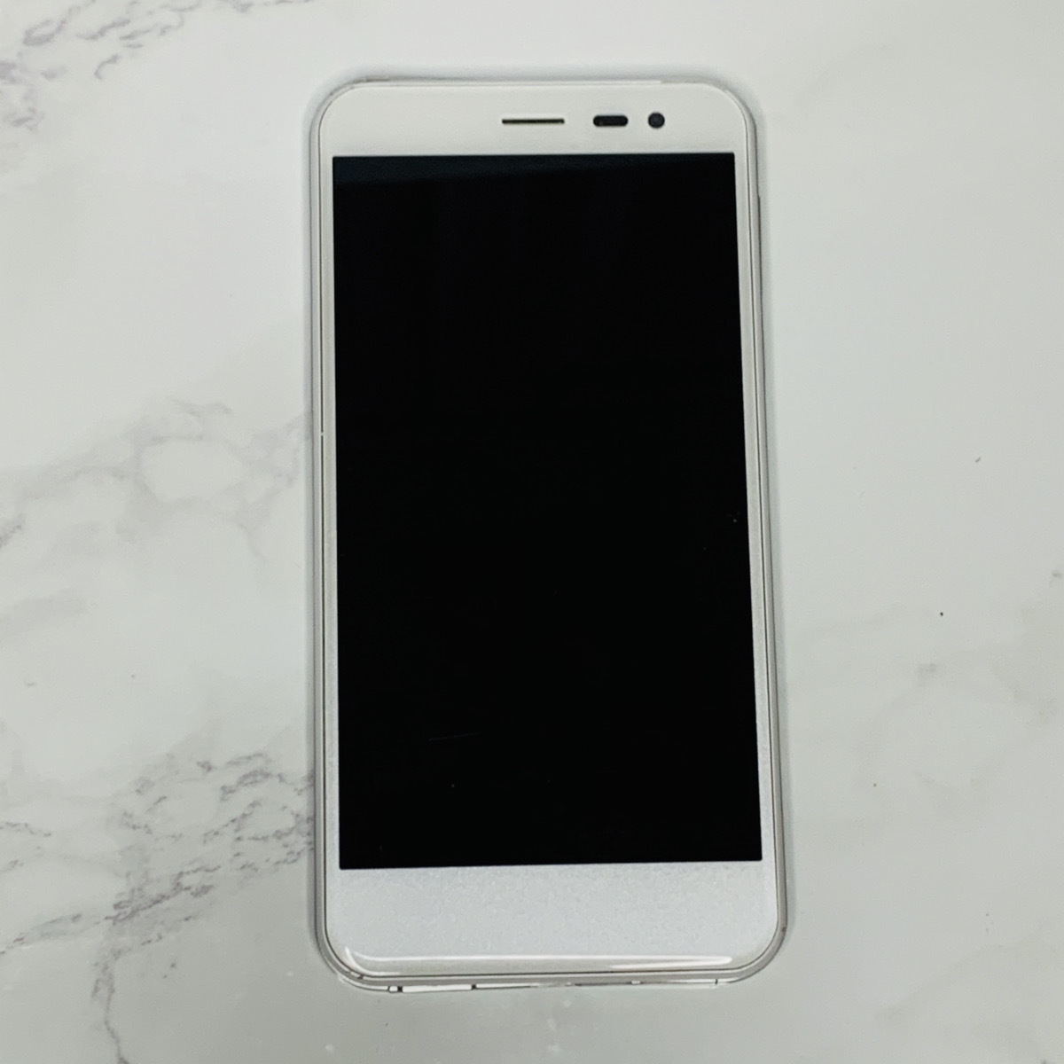 Y!mobile  android one  507SH 初期化済み ホワイト ジャンク扱い SJ-0001_画像1