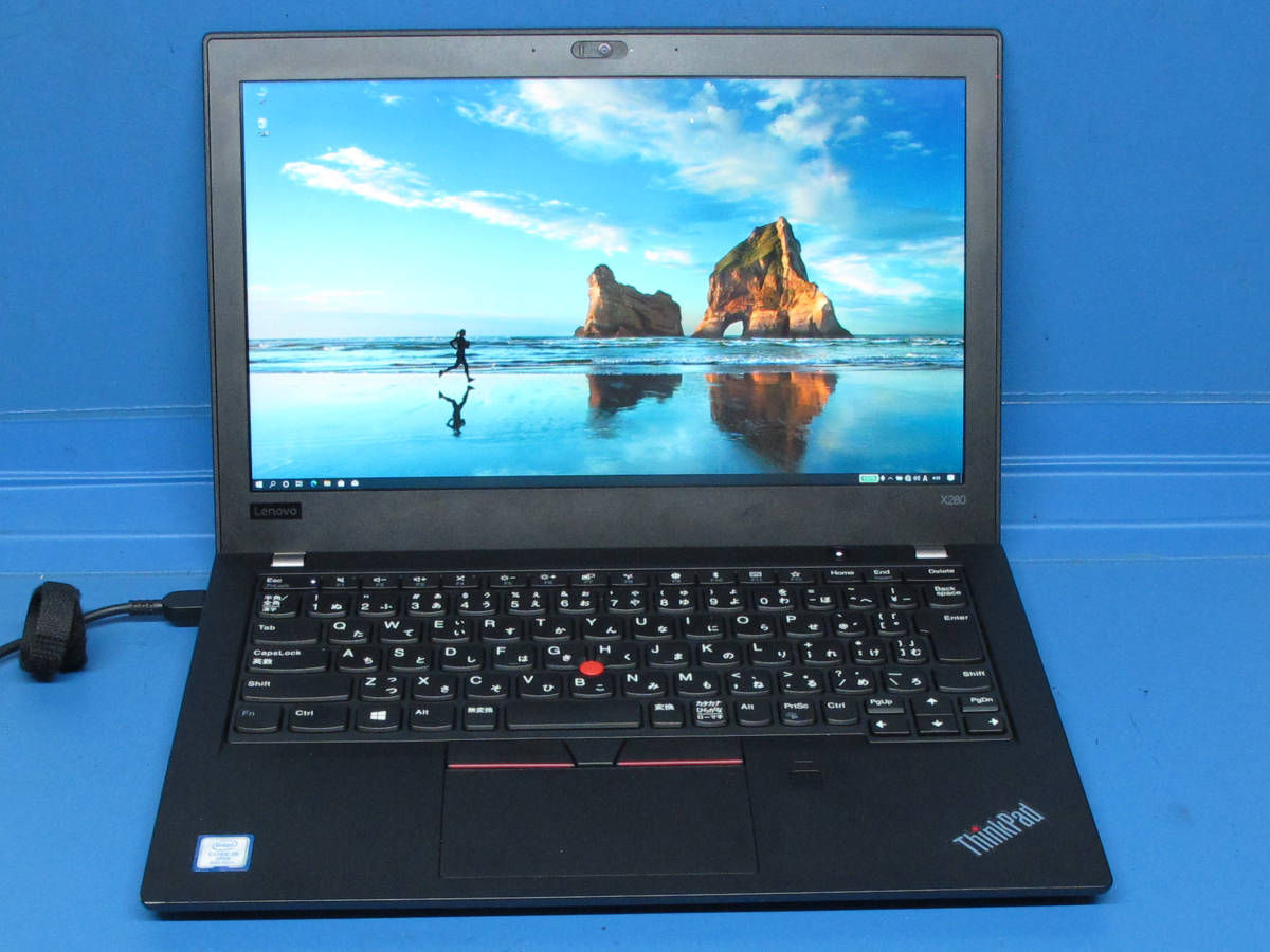 ThinkPad X280 Core i5-8350U SSD256GB 8GB FHD IPS Win10Pro(64bit)