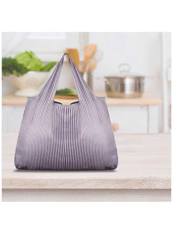エコバッグ 大容量 買い物袋 環境にやさしい 折り畳み 軽量 繰り返し水洗い 収納 ショッピングバッグ