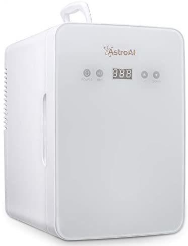 AstroAI 冷蔵庫 小型 冷温庫 ミニ冷蔵庫 6L 化粧品 小型でポータブル 家庭 車載両用 保温 保冷 2電源式 便利な携帯式 コンパクト 小型冷蔵 _画像1