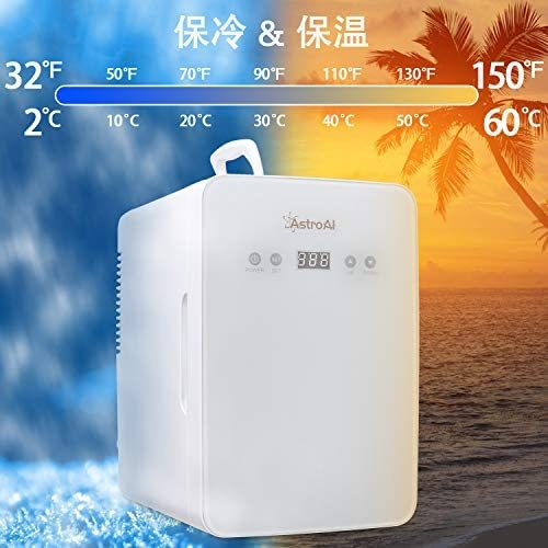 AstroAI 冷蔵庫 小型 冷温庫 ミニ冷蔵庫 6L 化粧品 小型でポータブル 家庭 車載両用 保温 保冷 2電源式 便利な携帯式 コンパクト 小型冷蔵 _画像4