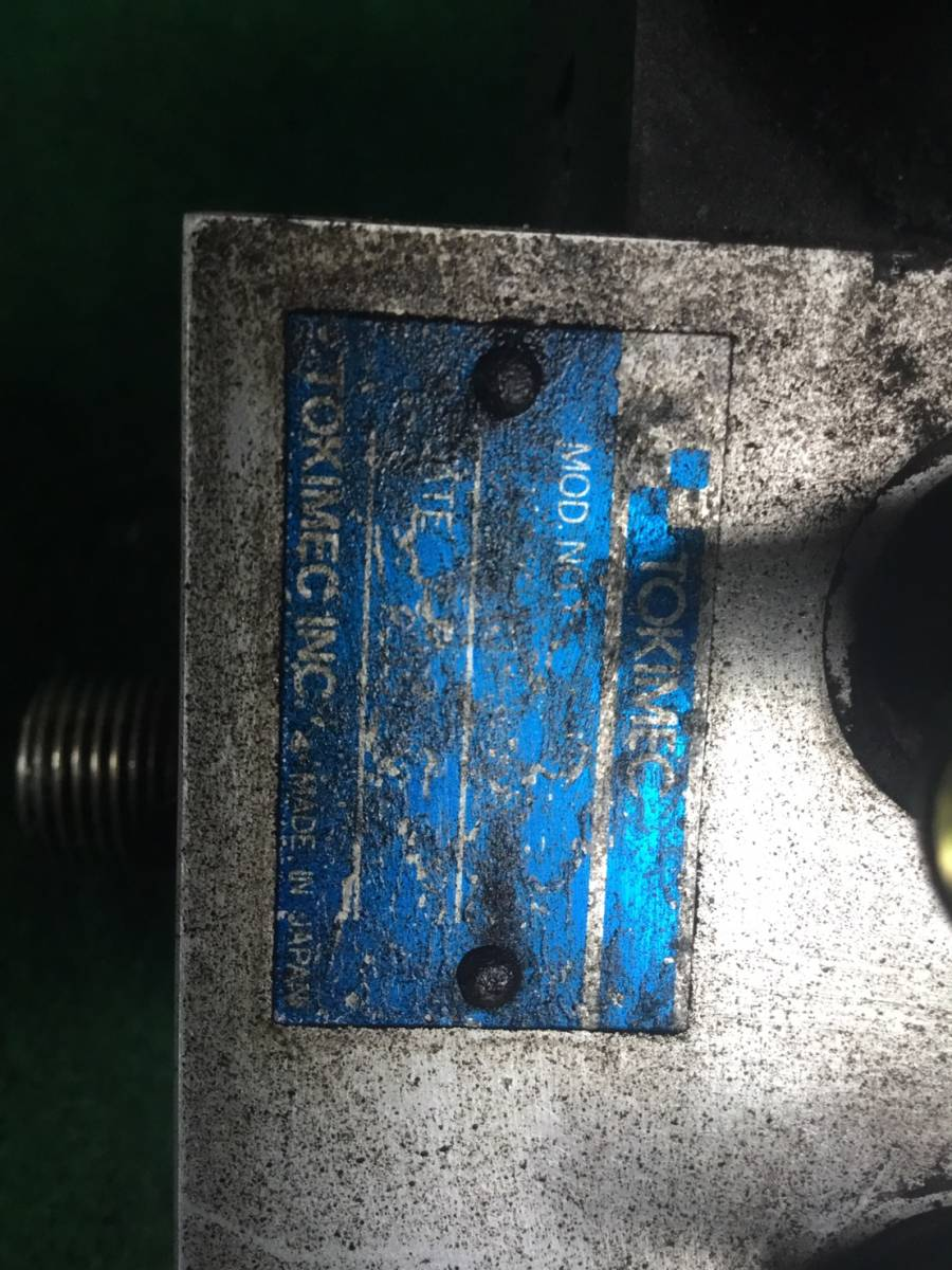 H.15年 アイチ 高所作業車 5分配 電磁バルブ ヤフオク ヤフオク X 20829 即日発送可 TOKYO KEIKI TOKIMEC_画像10