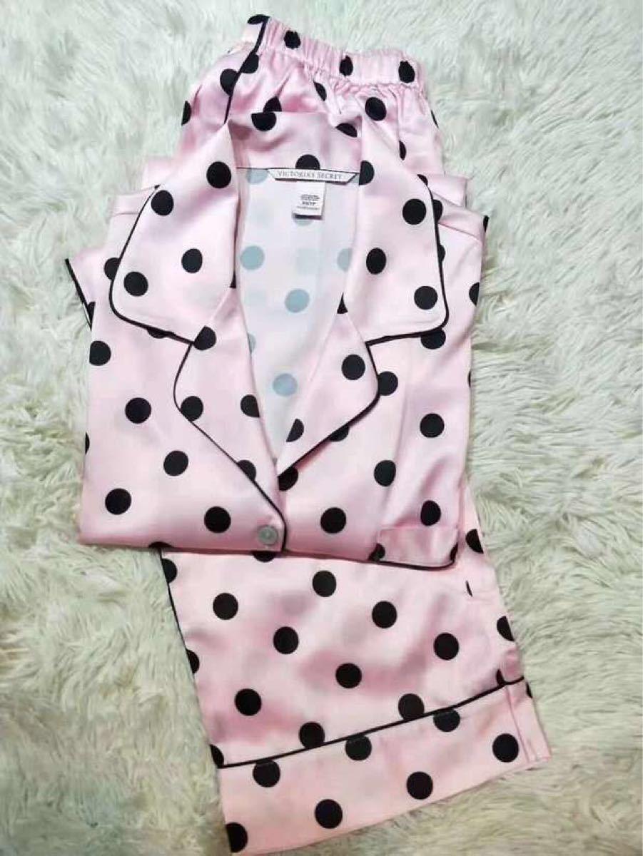 ヴィクトリアシークレット 最新作 日本未発売 大人気 ピンク 水玉 模様
