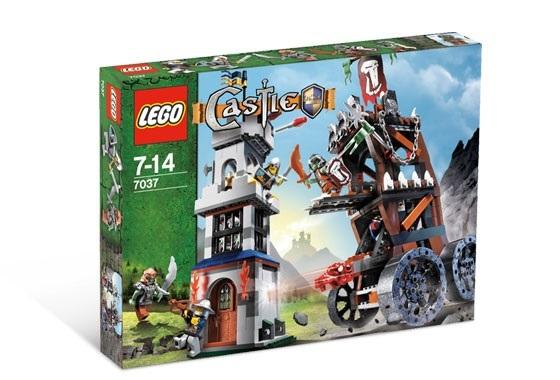 レゴ LEGO ☆ キャッスル Castle お城シリーズ ☆ 7037 牢獄タワーの襲撃 Tower Raid☆ 新品・未開封 ☆ 2008年製品(現絶版)_画像1