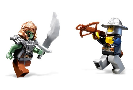 レゴ LEGO ☆ キャッスル Castle お城シリーズ ☆ 7037 牢獄タワーの襲撃 Tower Raid☆ 新品・未開封 ☆ 2008年製品(現絶版)_画像5