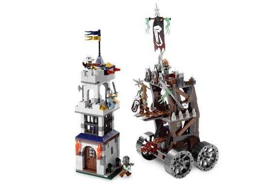 レゴ LEGO ☆ キャッスル Castle お城シリーズ ☆ 7037 牢獄タワーの襲撃 Tower Raid☆ 新品・未開封 ☆ 2008年製品(現絶版)_画像2