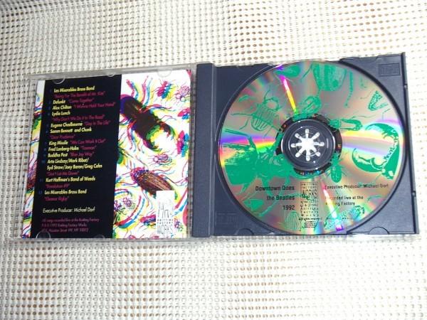 廃盤 Downtown Does The Beatles Live At The Knitting Factory 1992/NY No Wave 勢 ビートルズカヴァー Lydia Lunch Defunkt Arto Lindsay