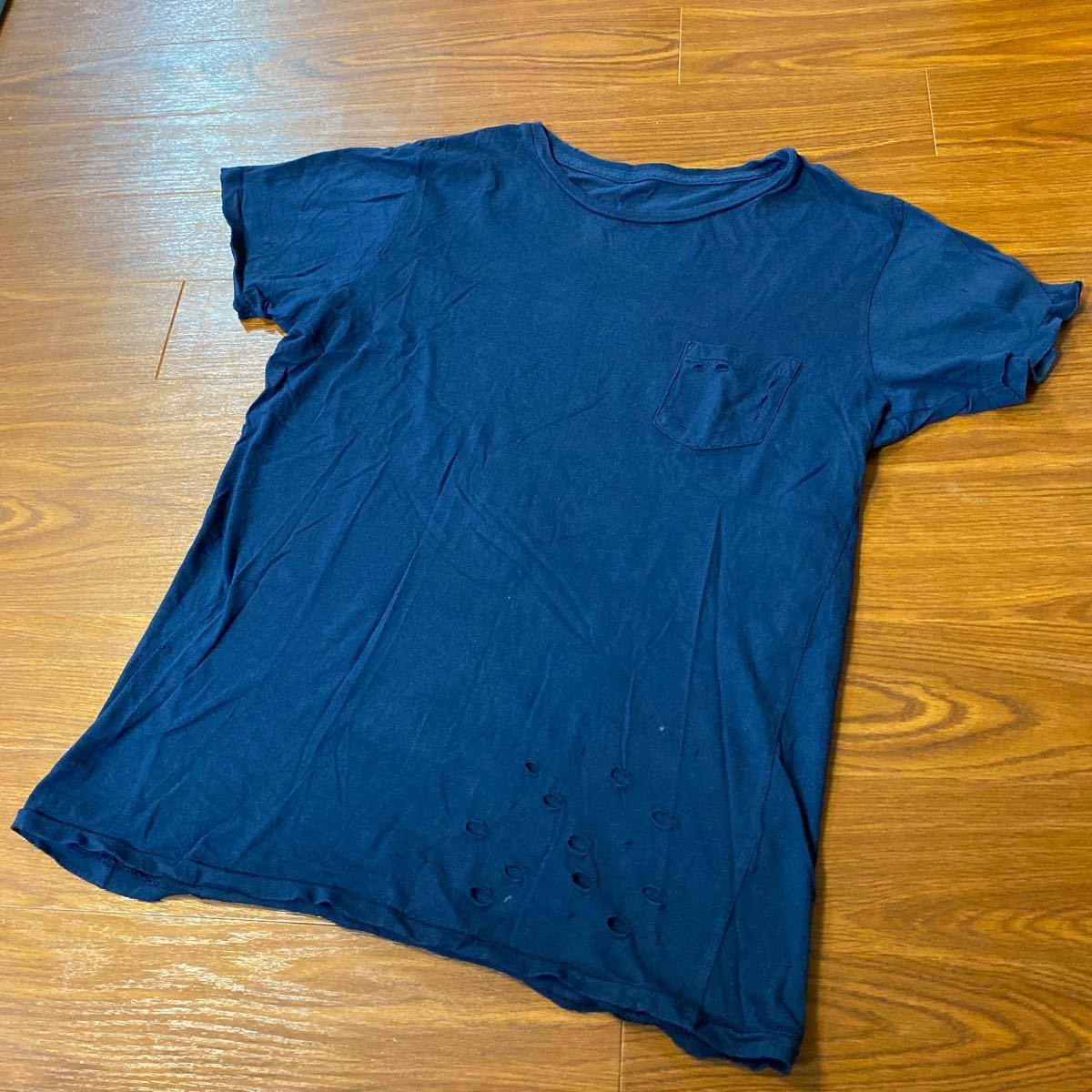 正規品 人気 ロンハーマンダメージTシャツ サザビーリーグ取扱いアメリカ製2made in USA SURF サーフ カリフォルニア アウトドアキャンプ
