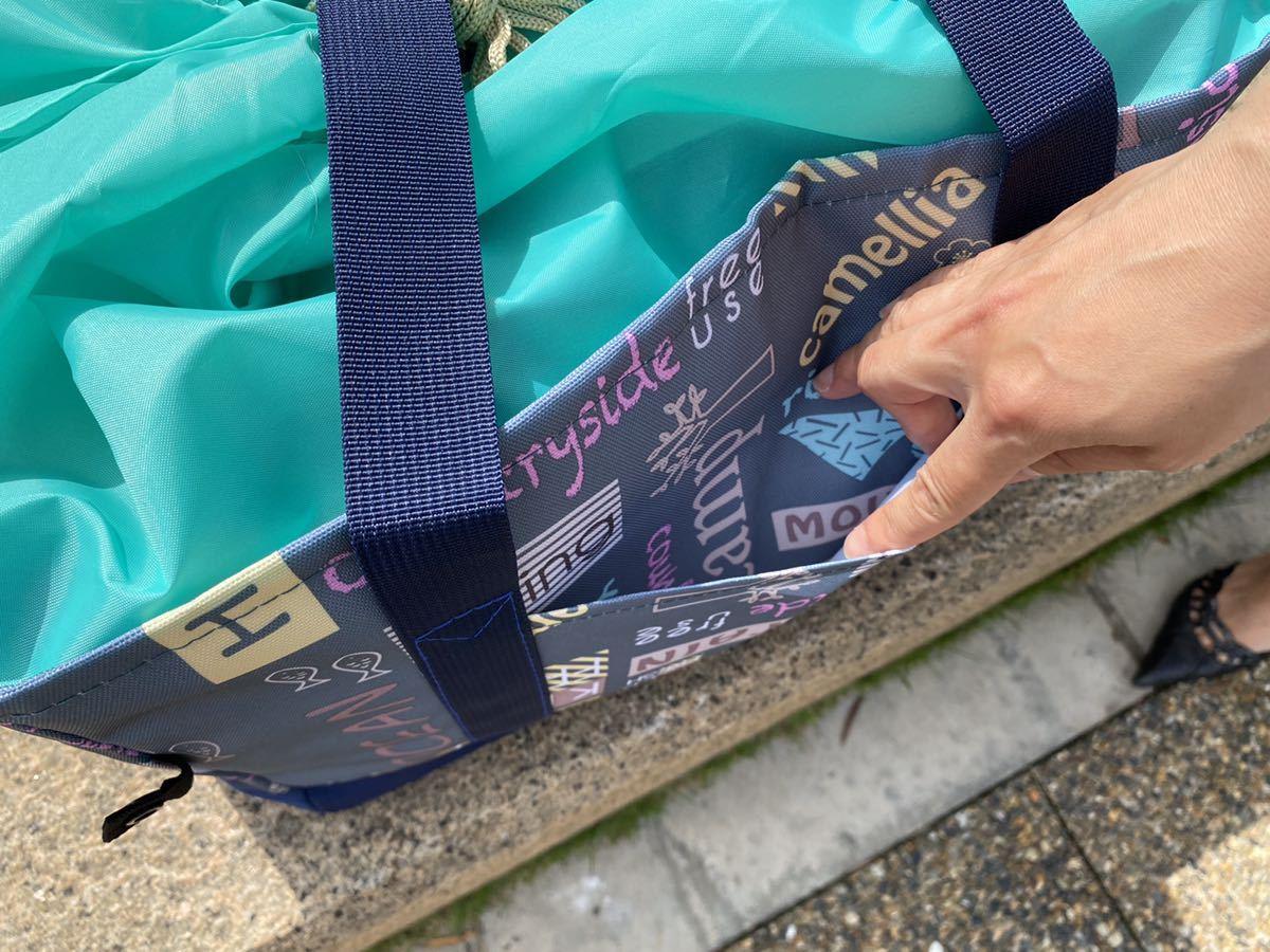 レジカゴバッグ エコバッグ 大容量 保温保冷 折り畳み