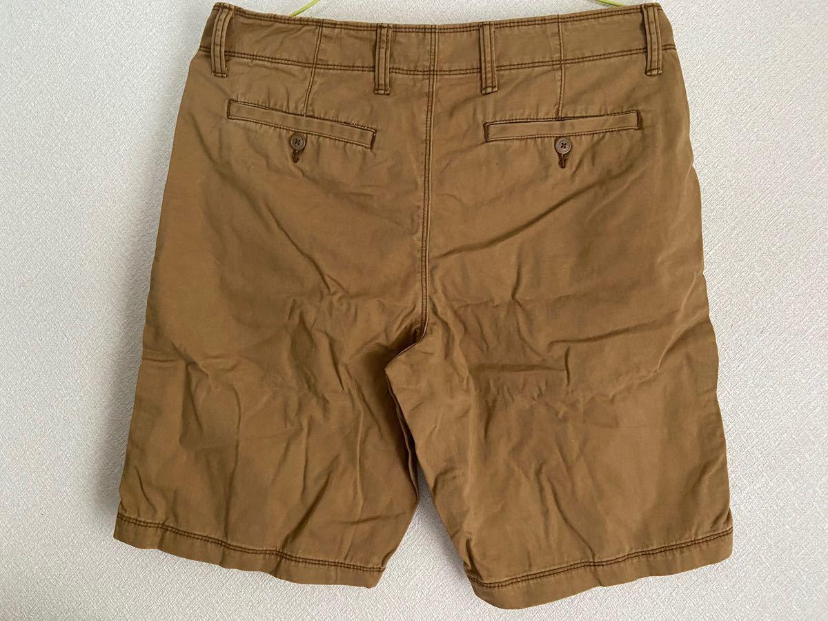 メンズ オールドネイビー ハーフパンツ ショートパンツ ブラウン 半ズボン 夏