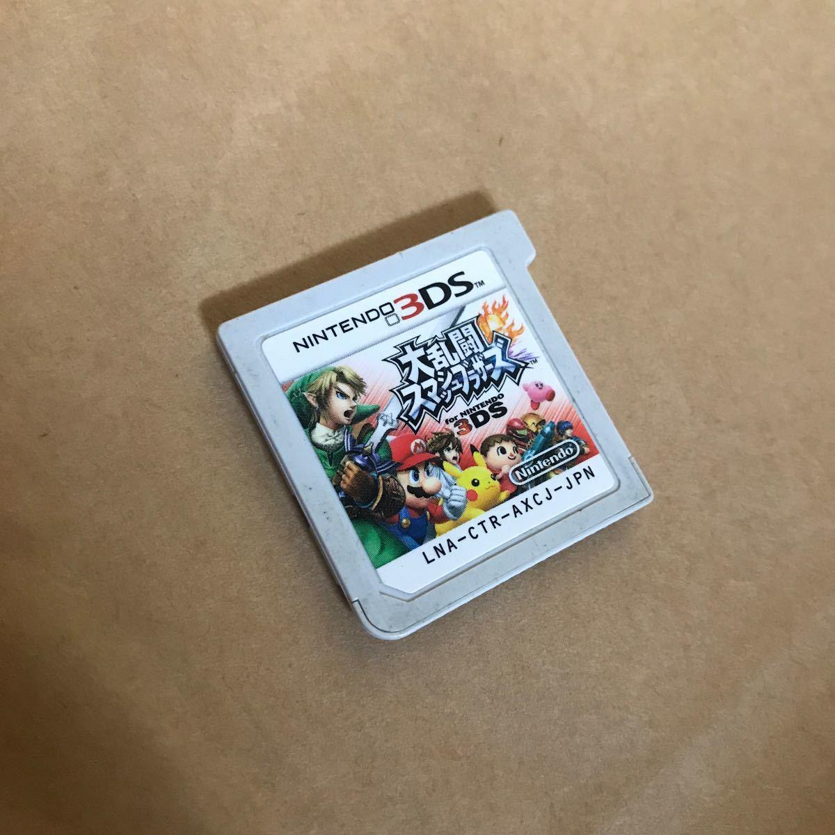 大乱闘スマッシュブラザーズ 3DS 3DSソフト ニンテンドー3DS ソフト