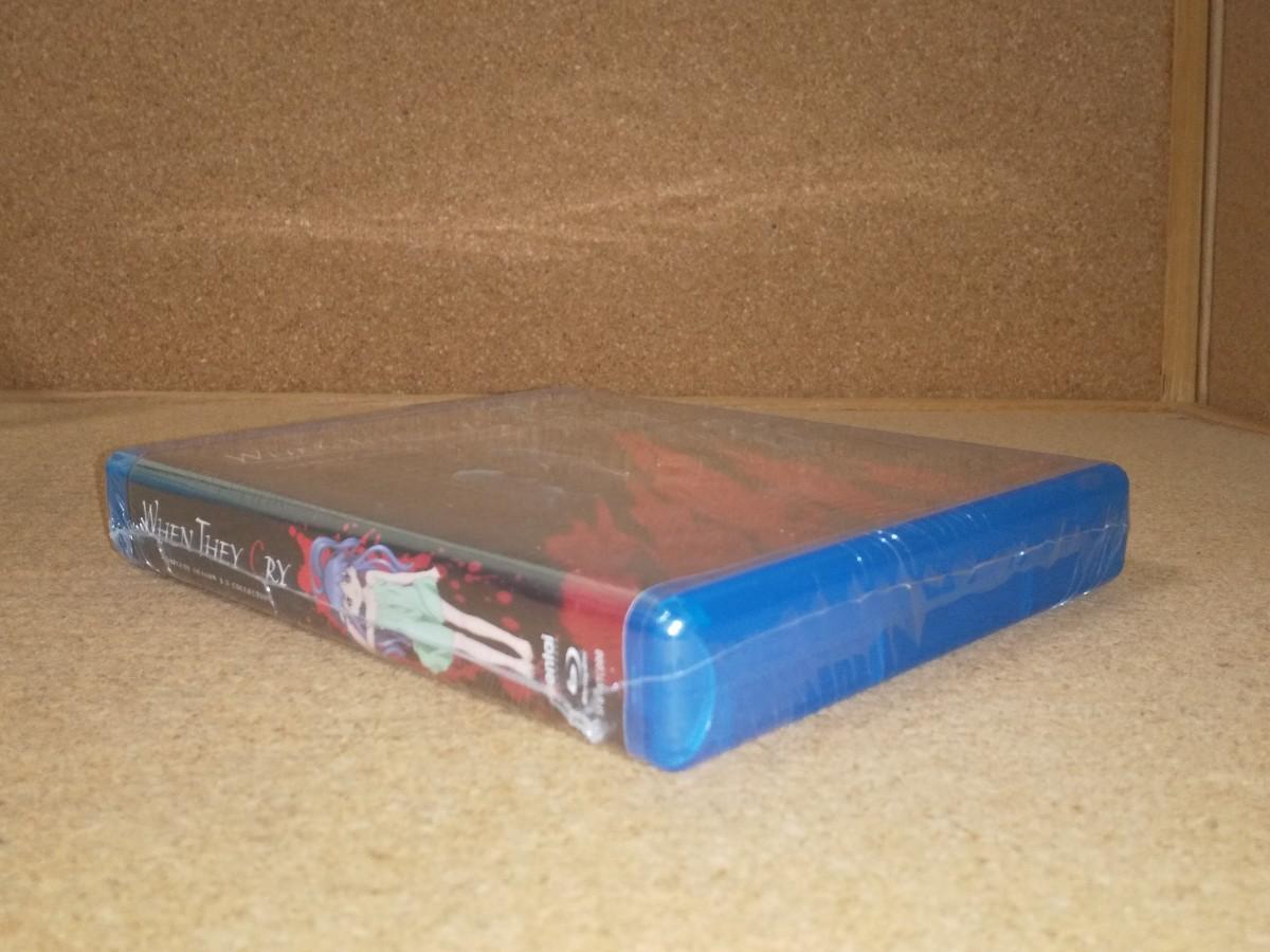 新品BD★ひぐらしのなく頃に 第1期-第3期 全55話 ブルーレイ 北米版