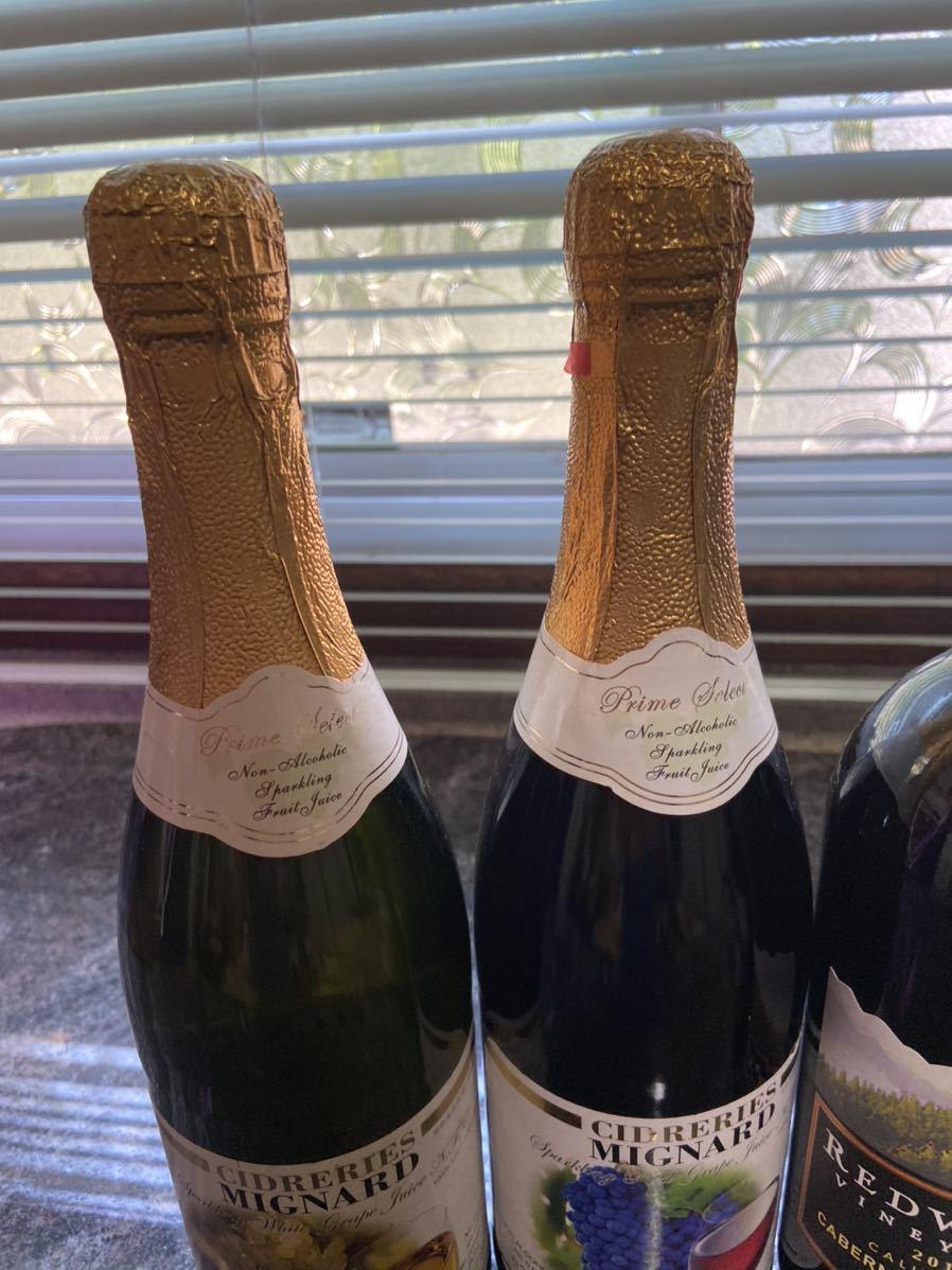 オーストラリア オペラハウス ワイン REDWOOD VINEYARDS 2011 CIDRERIES MIGNARD ノンアルコール_画像3
