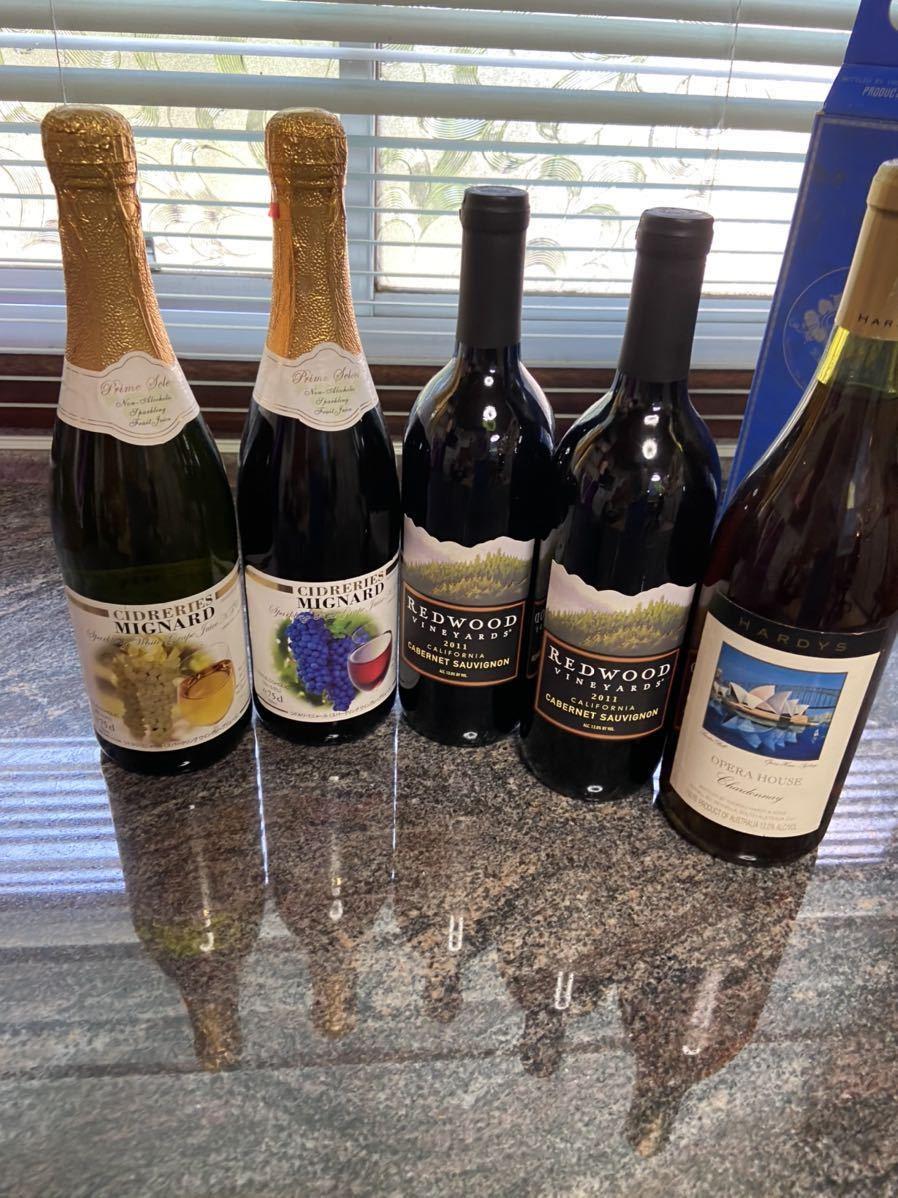 オーストラリア オペラハウス ワイン REDWOOD VINEYARDS 2011 CIDRERIES MIGNARD ノンアルコール_画像1