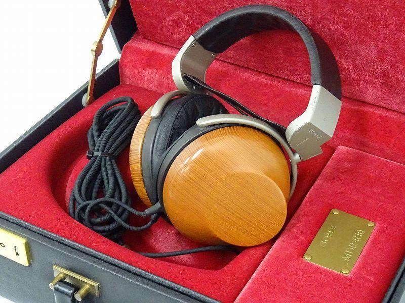 ■□【名機】SONY MDR-R10 オーバーヘッド 密閉型 ダイナミック型 ヘッドフォン ソニー ケース付□■006513003m□■