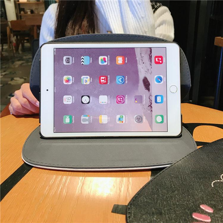 ipad mini5 ケース アイパッドミニ5 ケース 7.9インチ タブレットPC 手帳型 ねこ かわいい_画像2