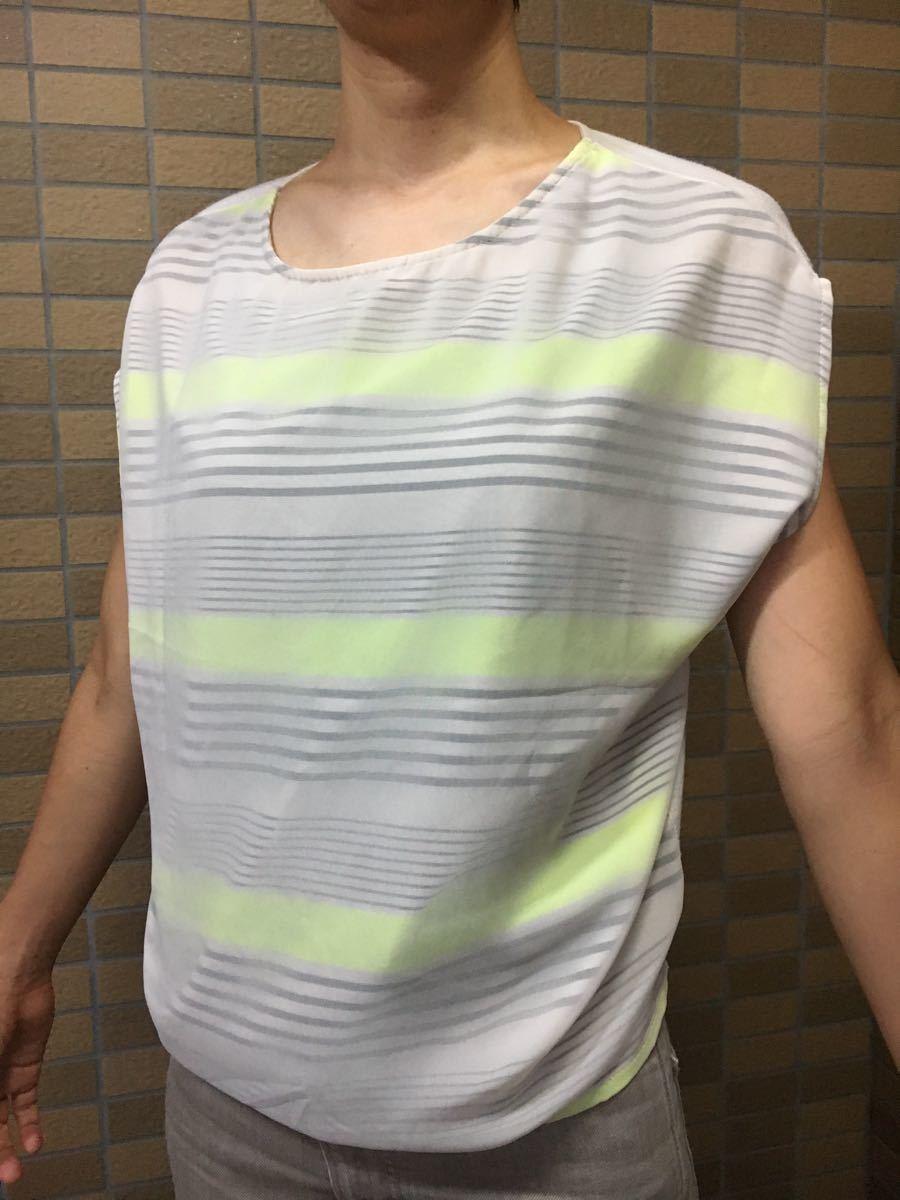 サマーニット トップス Tシャツ