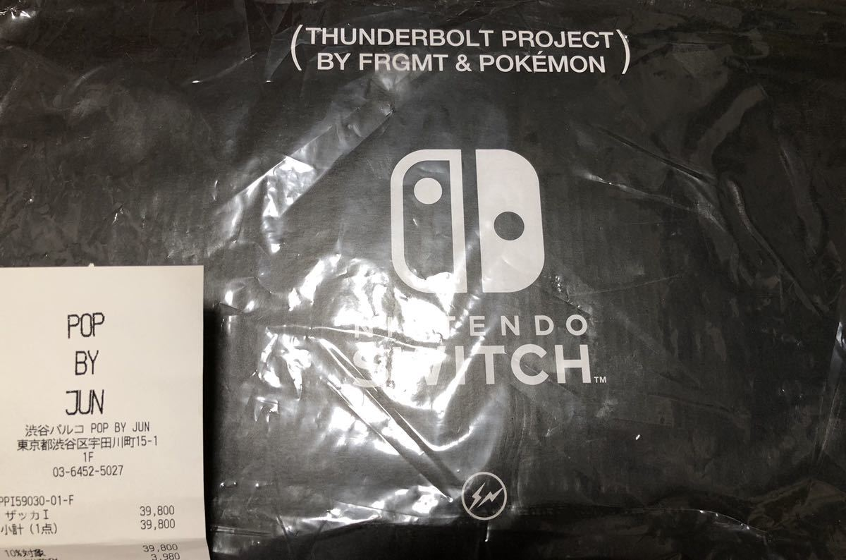 Nintendo Switch THUNDERBOLT PROJECT BY FRAGMENT 任天堂 ニンテンドー スイッチ 本体 フラグメント pop by jun
