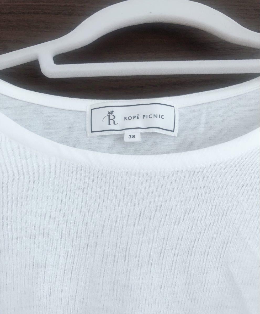 純白カットソー♪♪Tシャツ トップス 新品未使用