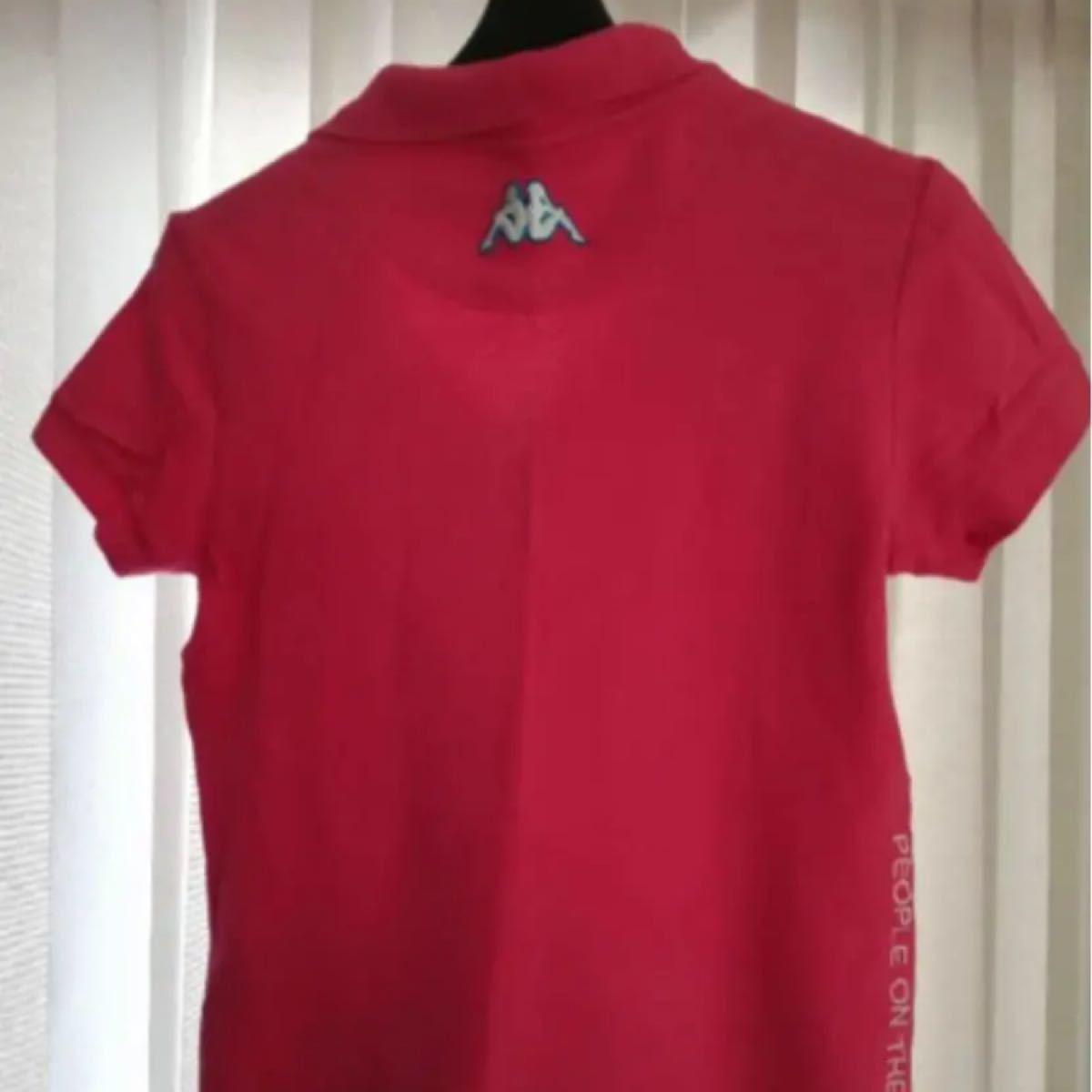 ポロシャツ  パステルピンク