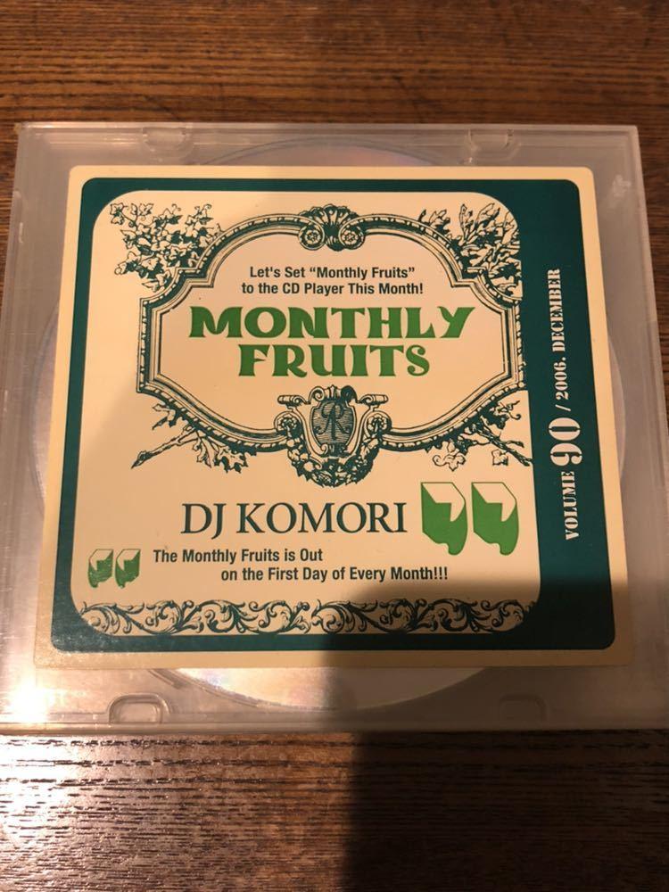 MIXCD R&B MIXTAPE DJ KOMORI MANTHLY FRUITS VOL 90 KAORI DADDYKAY DDT TROPICANA MURO KIYO KOCO_画像1
