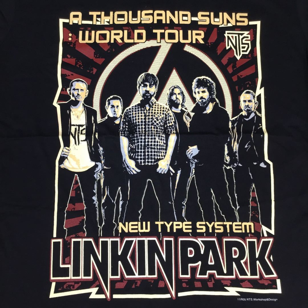 BSCT1♪ バンドデザインTシャツ XLサイズ リンキンパーク LINKIN PARK ①