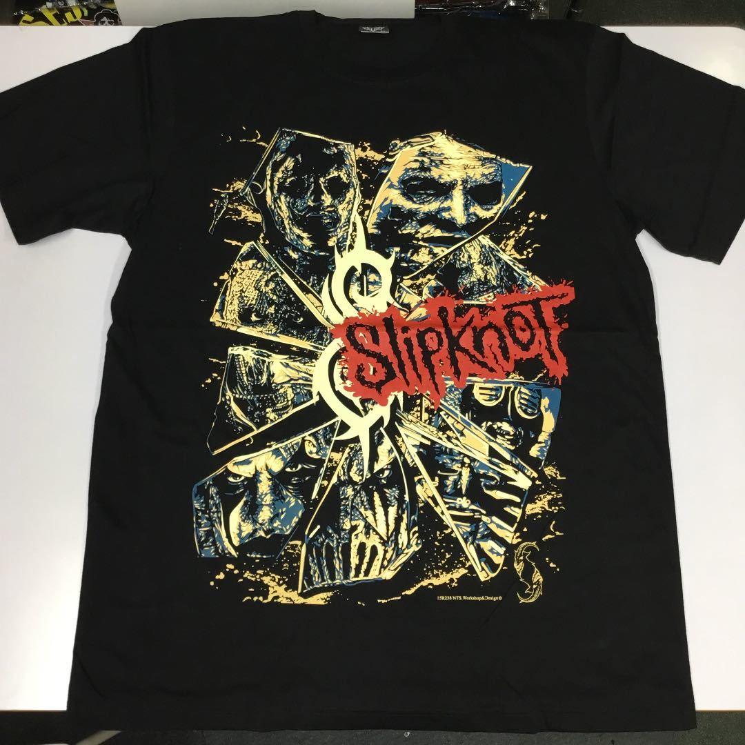 バンドデザインTシャツ XLサイズ スリップノット SlipknoT ② BSCT2