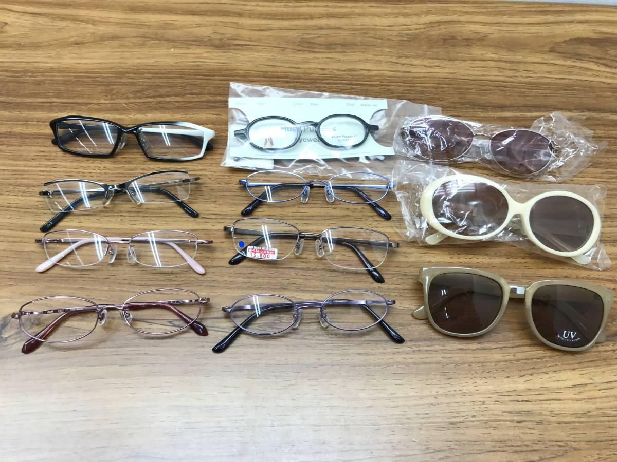 ⑨【新品★高品質メガネ・サングラス100本まとめ】大特価 安い お買い得 チタン メガネフレーム 眼鏡 セット売り 大量 破格_画像3