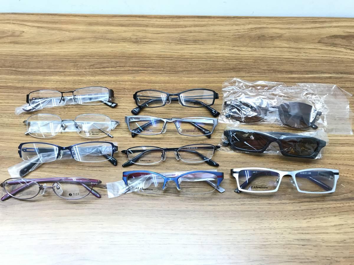 ⑨【新品★高品質メガネ・サングラス100本まとめ】大特価 安い お買い得 チタン メガネフレーム 眼鏡 セット売り 大量 破格_画像9