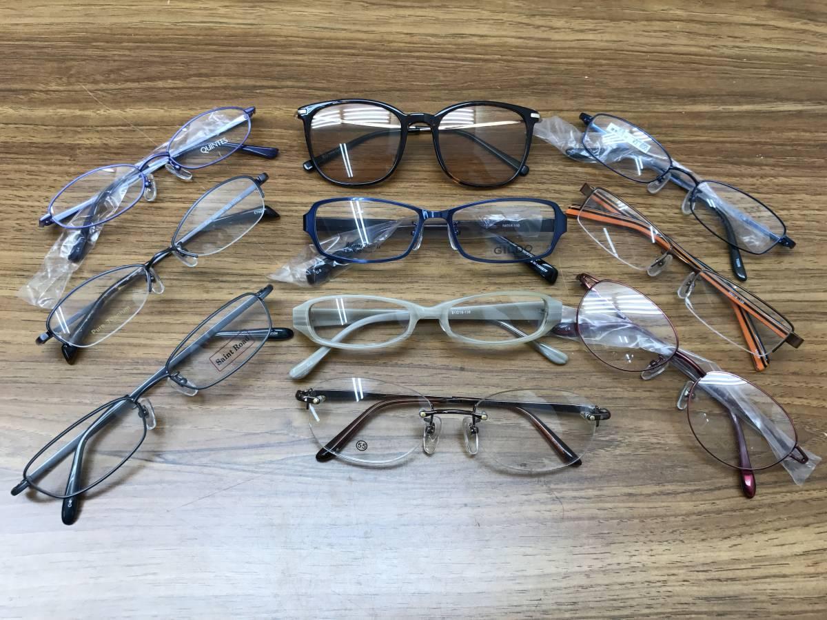 22【新品★高品質メガネ・サングラス100本まとめ】大特価 安い お買い得 チタン メガネフレーム 眼鏡 セット売り 大量 破格_画像3