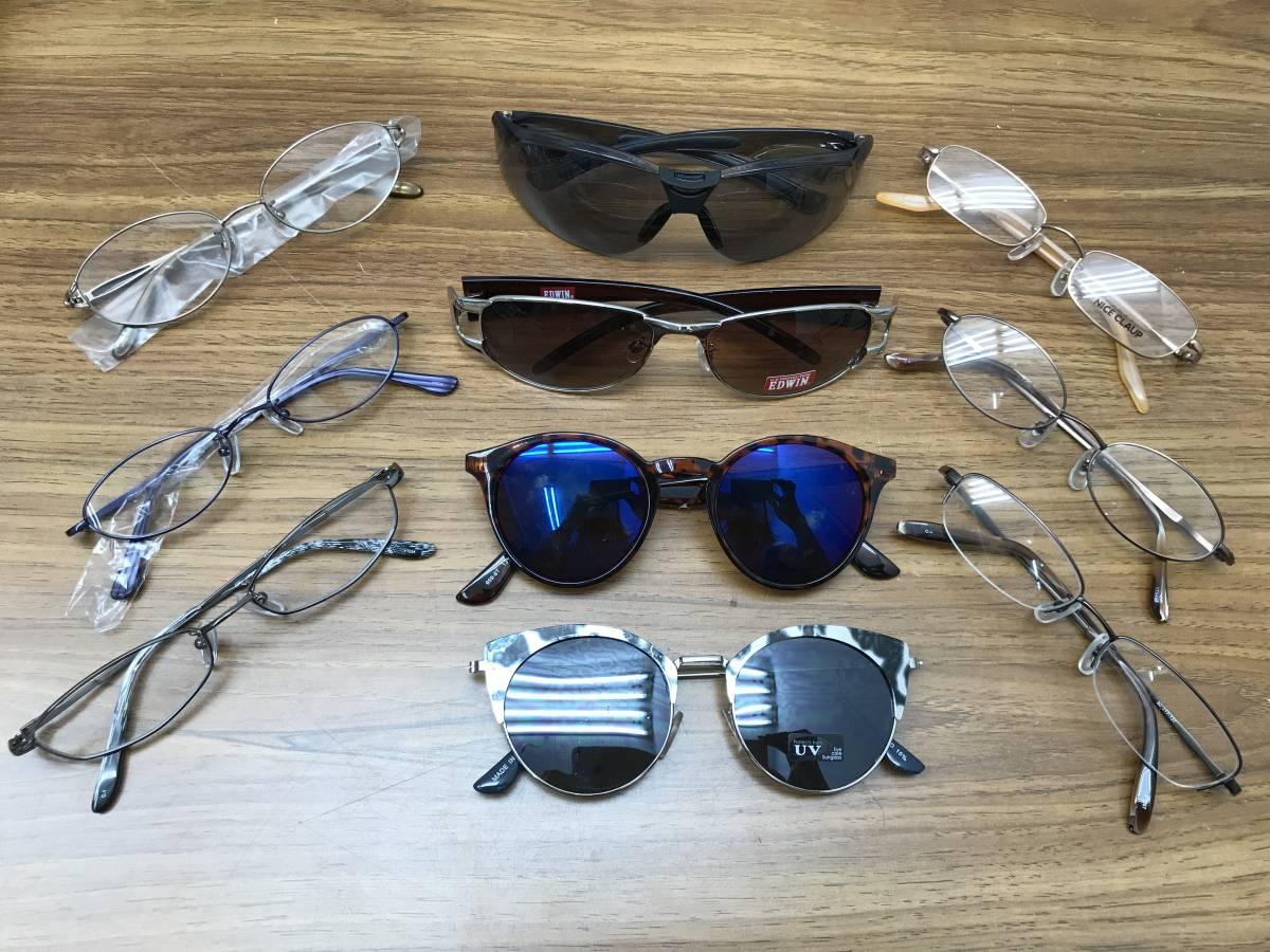 22【新品★高品質メガネ・サングラス100本まとめ】大特価 安い お買い得 チタン メガネフレーム 眼鏡 セット売り 大量 破格_画像6