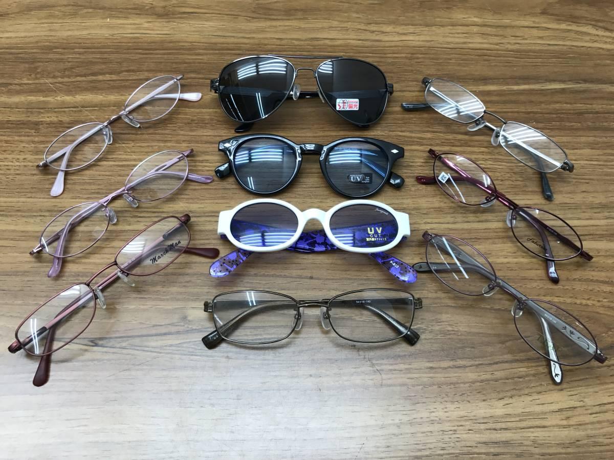22【新品★高品質メガネ・サングラス100本まとめ】大特価 安い お買い得 チタン メガネフレーム 眼鏡 セット売り 大量 破格_画像9