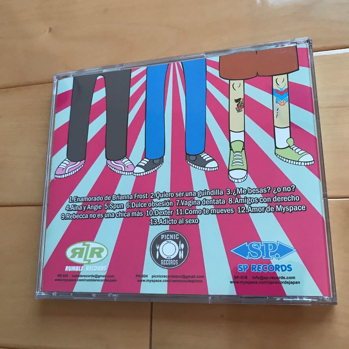 Spoilers CD /POWER POP/PUNK/KBD/パンク天国/パワーポップ/70's/Mods/Garage/R&R/New Wave/