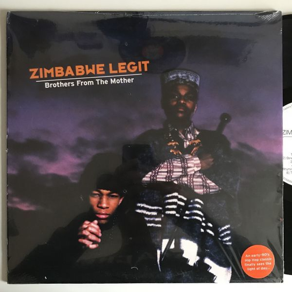 Zimbabwe Legit - Brothers From The Mother【US Orig.】【オリジナル】【LP】【アルバム】_画像1