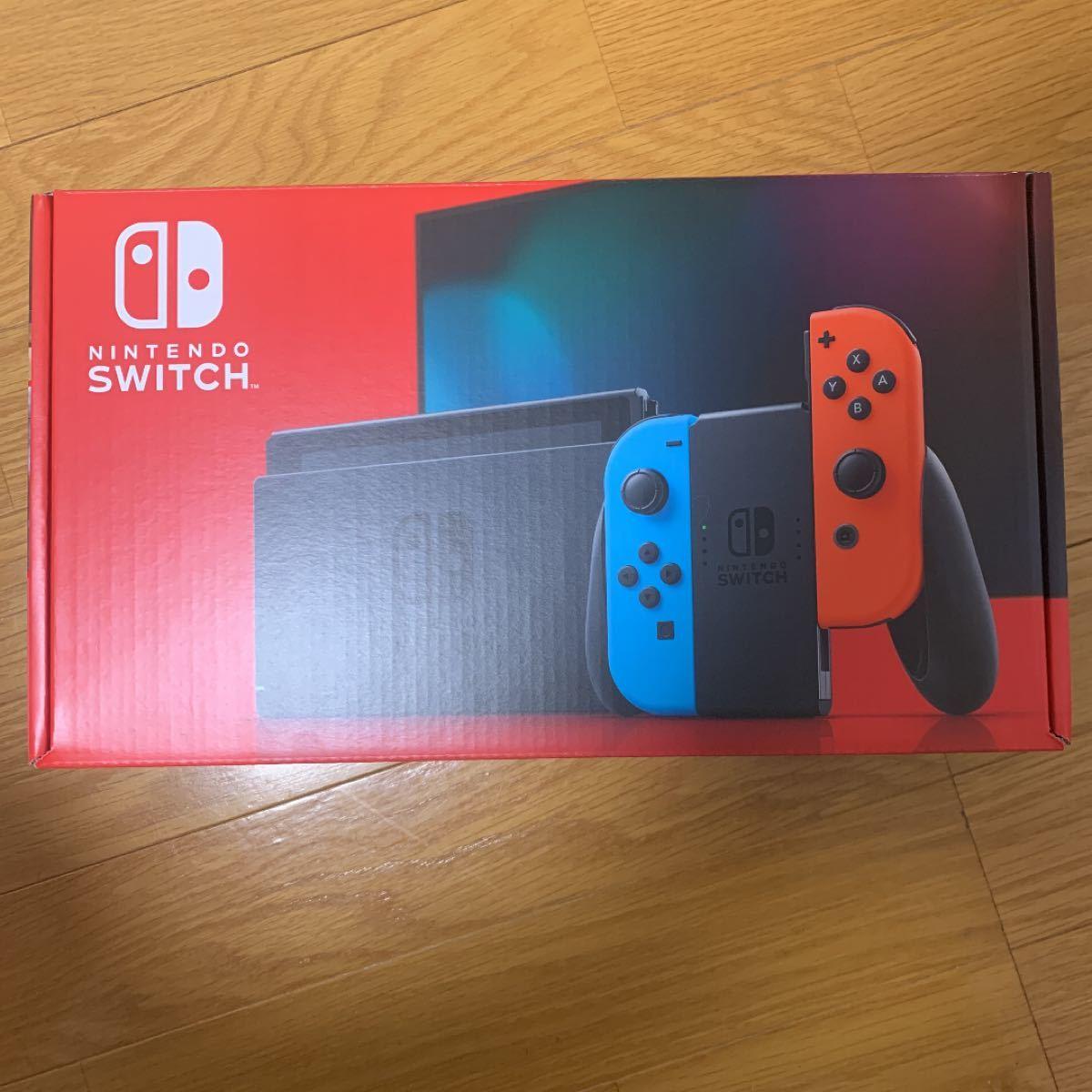 Nintendo Switch ニンテンドースイッチ本体 ネオンブルー