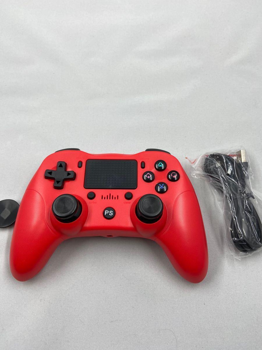 PS4 ワイヤレスコントローラー レッド DOUBLESHOCK4