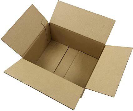茶 10枚 60サイズ ダンボール 日本製 段ボール箱 (25×19×11.5cm) 宅配 梱包 引っ越_画像1