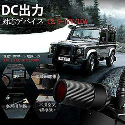 ジャンプスターター最大1500A電流/全ガソリン車・6.5Lまでのディーゼル車、モーターバイクに対応 USB-Cスマホ急速充電器/LEDライト_画像5