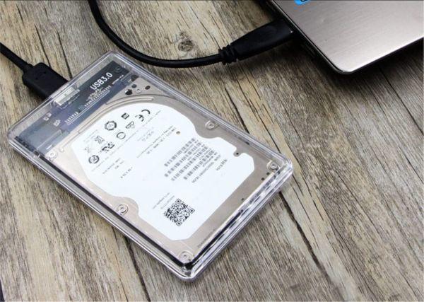 透明な 2.5インチ HDDケース USB 3.0接続 SATA対応 HDD/SSD 外付け ドライブ ケース ネジ&工具不要 簡単着脱 Windows/Mac/Linux等適用_画像8