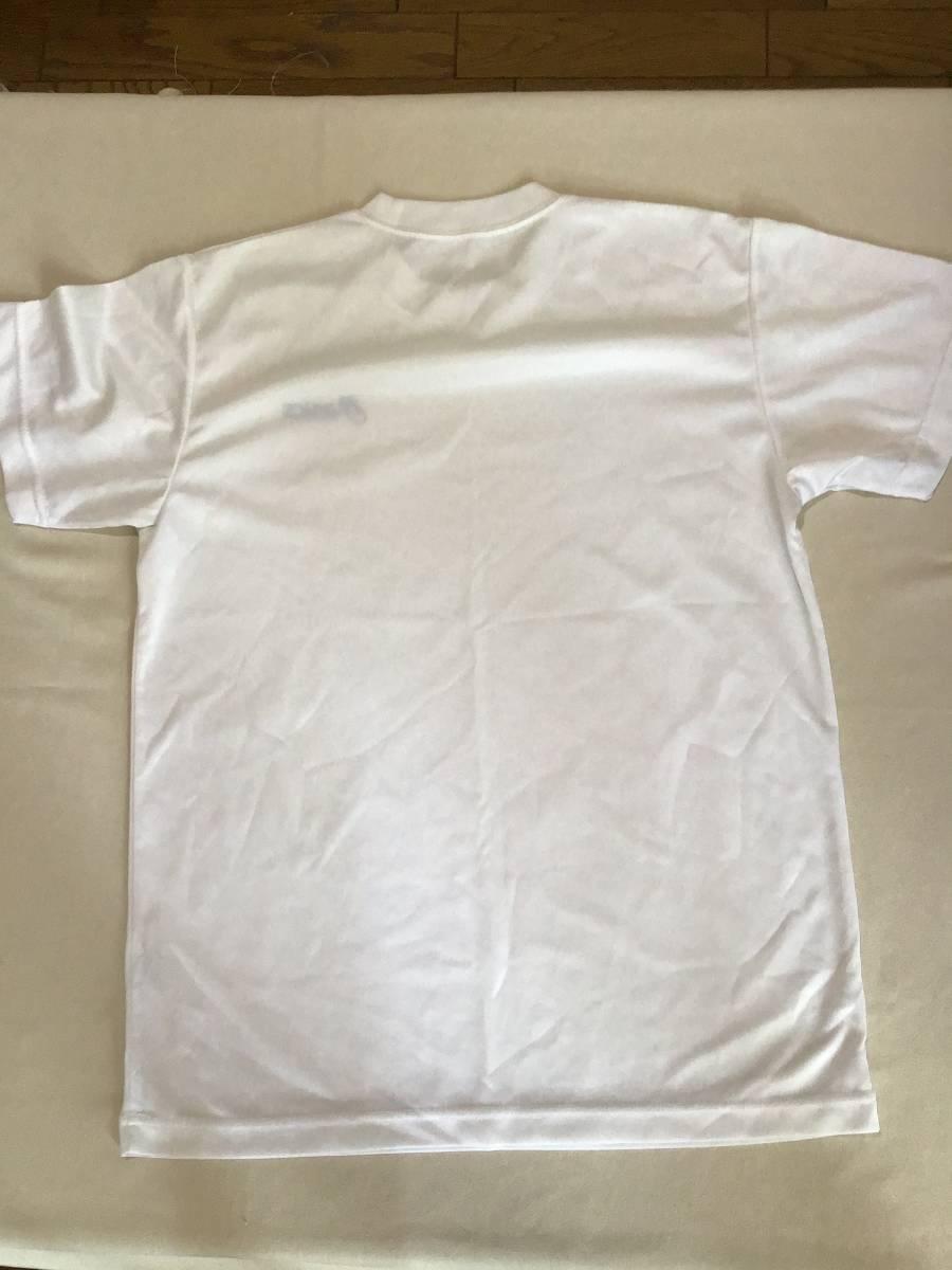 アシックス クールネックシャツ 半袖 M 白 ポリエステル100%_画像6