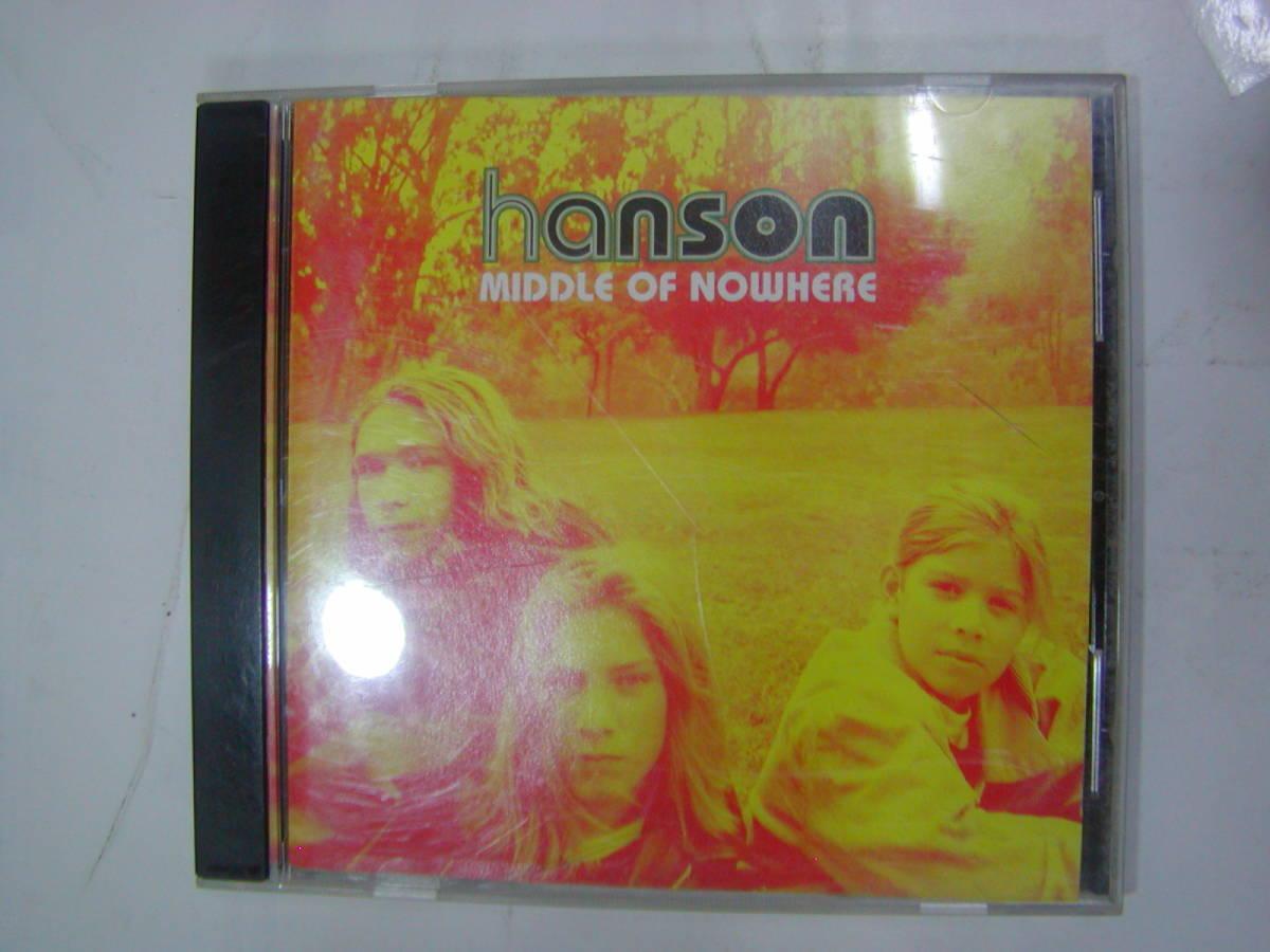 CDアルバム 輸入盤[ Hanson ハンソン ]MIDDLE OF NOWHERE 12曲 送料込_画像1