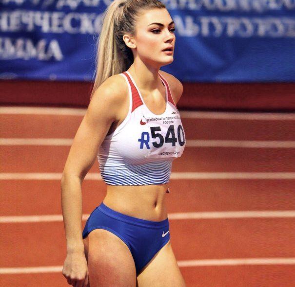 【特別出品】ロシア走幅跳代表選手 直筆サイン入り公式ユニフォーム(V・ゴルロヴァ選手)2