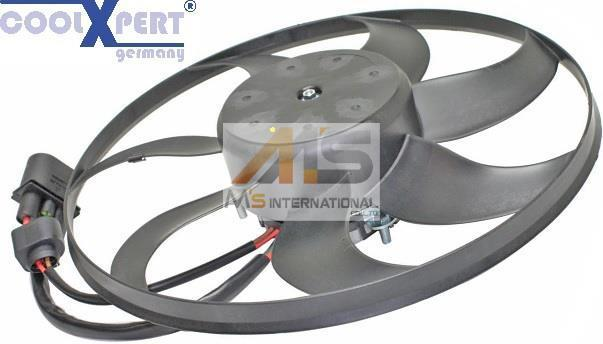 【M's】AUDI A3(8P)/TT(8J)COOLXPERT製・他 ラジエーター 電動ファン//アウディ アディショナルファン 1K0-959-455FR 1K0-959-455FJ_画像1