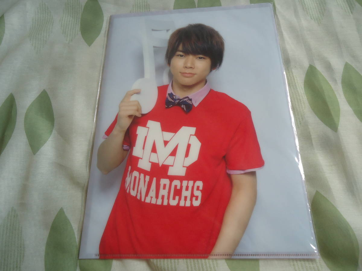 Shipping 140 yen (^ ^ ♪ prompt decision ◆ New article not opened ◆ Masuda Keisu clear file Tegomass 1st live Tegomass song NEWS Massu