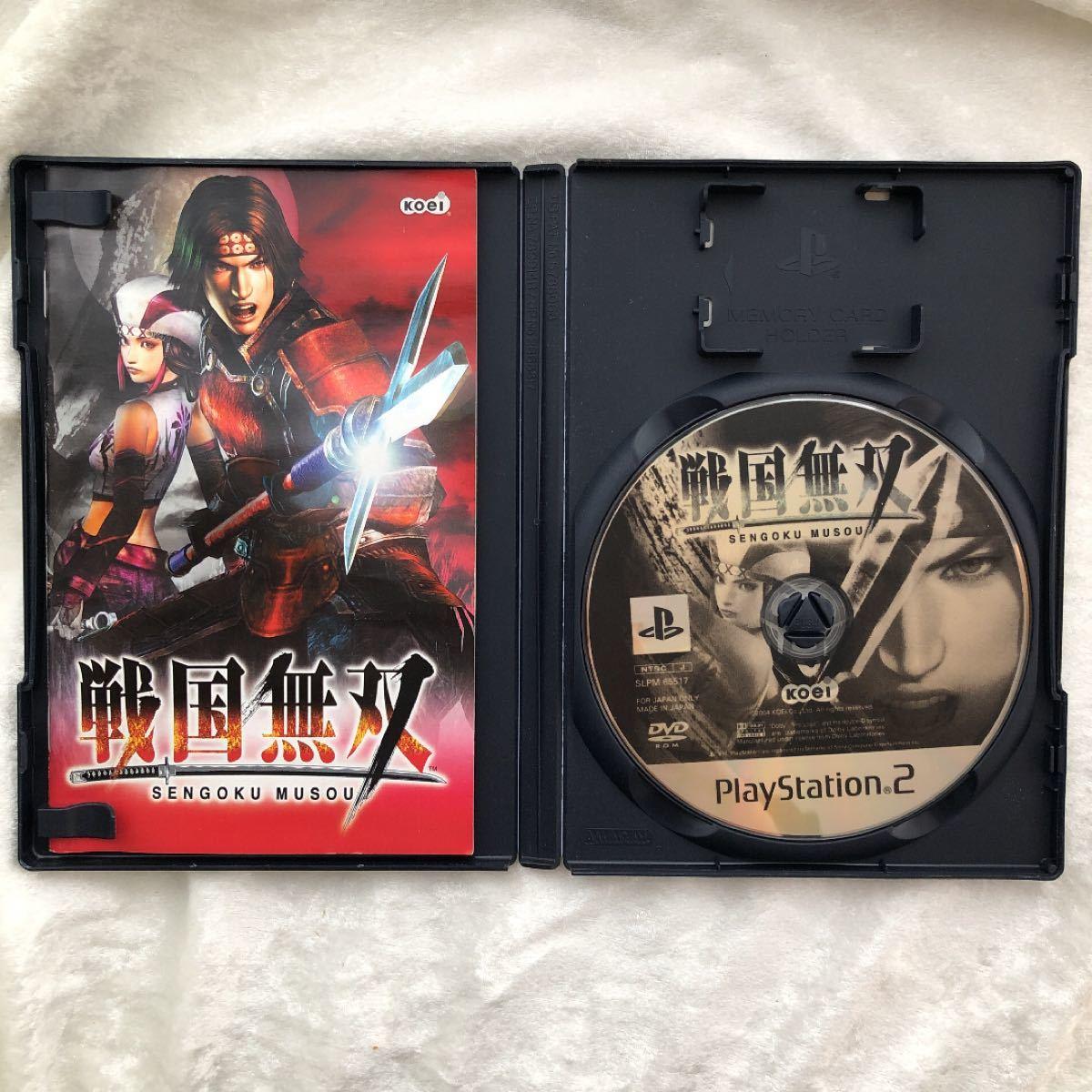 戦国無双 PS2用ソフト