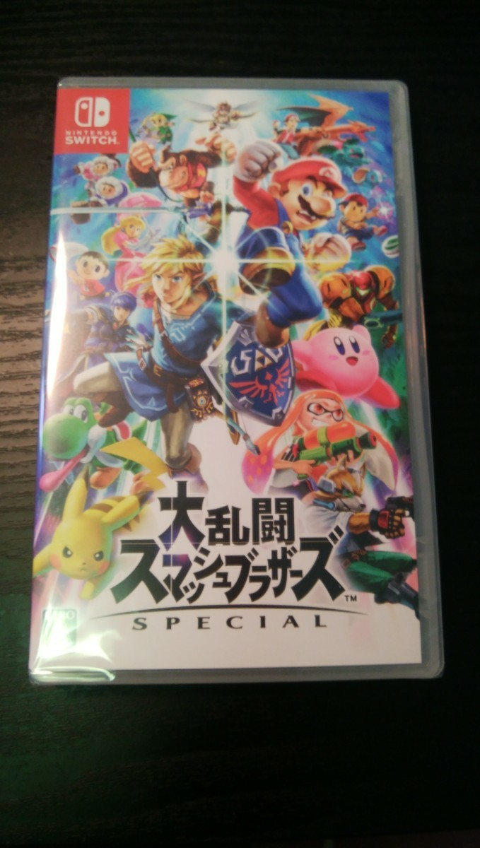 【Switch】 【新品未開封】 大乱闘スマッシュブラザーズ SPECIAL