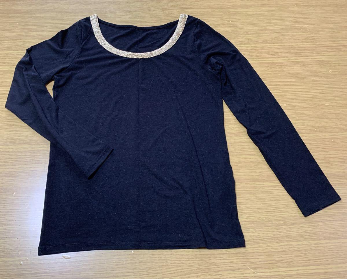 長袖Tシャツ カットソー vis  Mサイズ