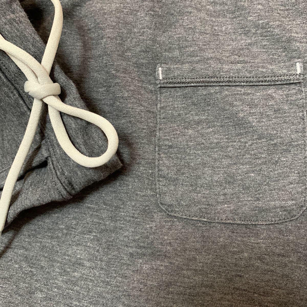 ランニング スカート L 杢グレー  ユニクロ
