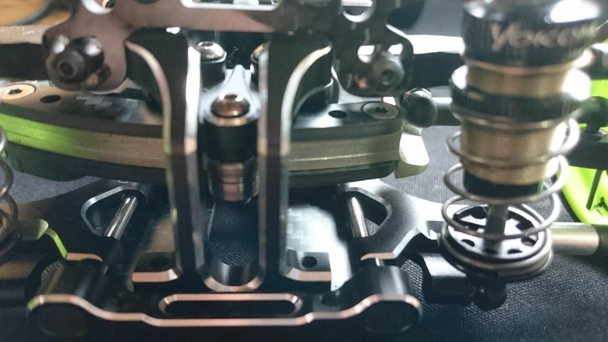 ラジコンパーツ ヨコモ YD-2スライドラック用オリジナルカーボンプレート