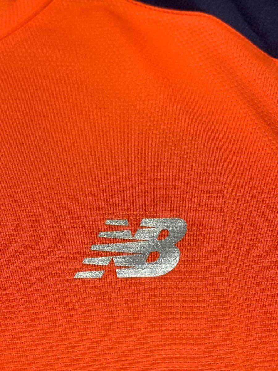 ニューバランス ランニング半袖シャツ 新品未使用 オレンジ